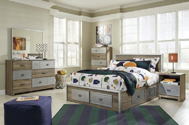 Full Bed w2Drawers  D&M
