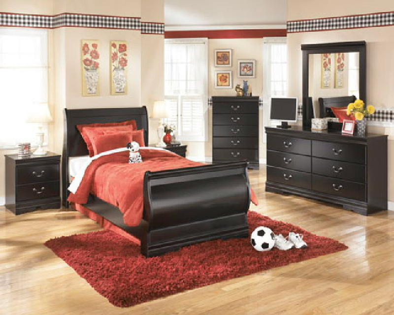 5 Pcs Twin Sleigh Bedroom