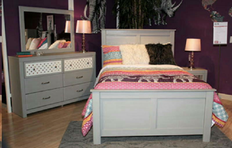 5pc Full Panel  Bedroom Set