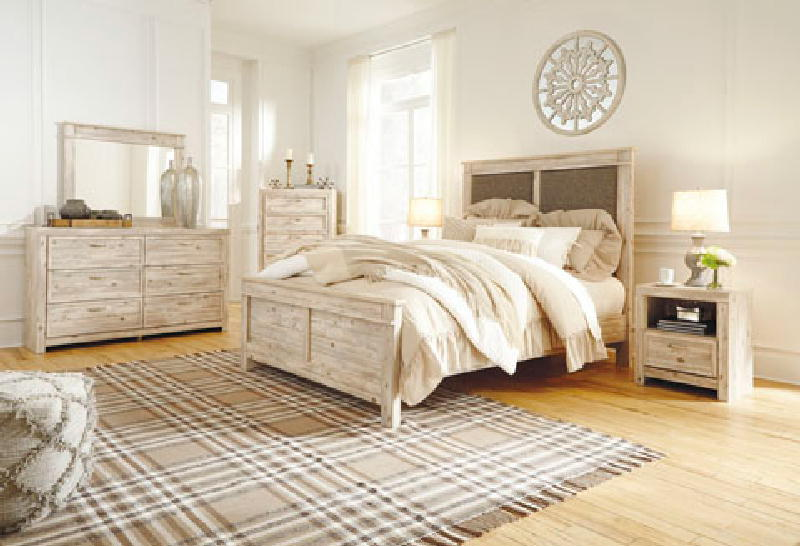 King BK Storage Bed