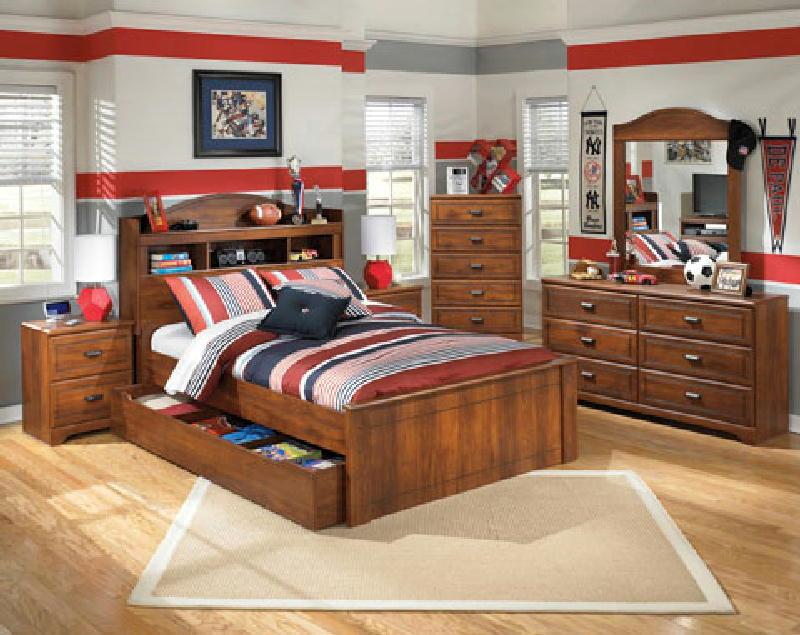 5 Pcs Full Bedroom W1 Storage