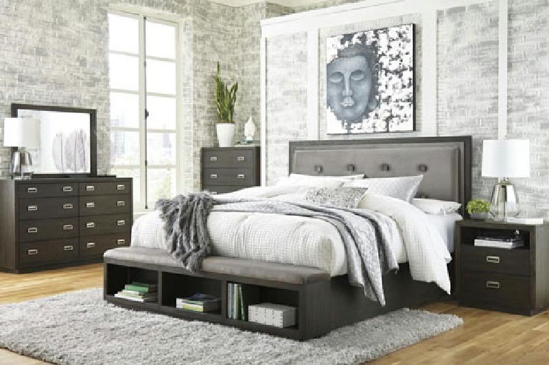 5 Pcs King Storage Bedroom
