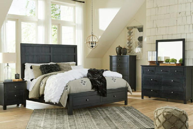 5 Pcs Queen Storage Bedroom