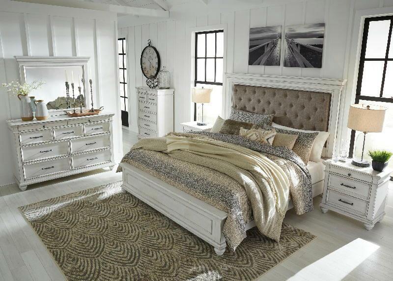 5 Pcs Queen Uph Bedroom