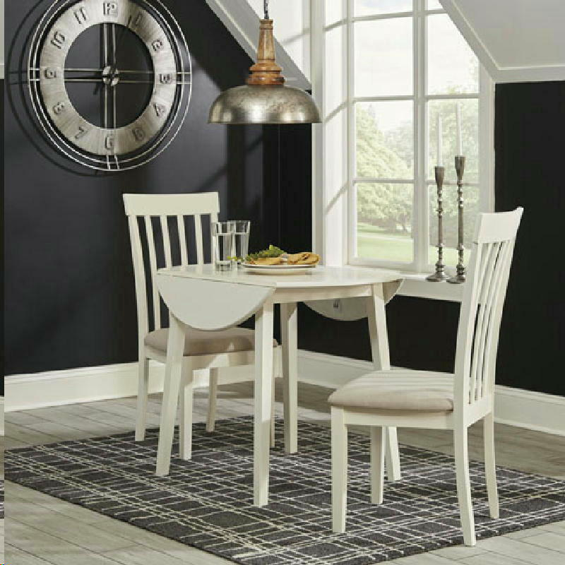 3 Pcs Drop Leaf Table Set