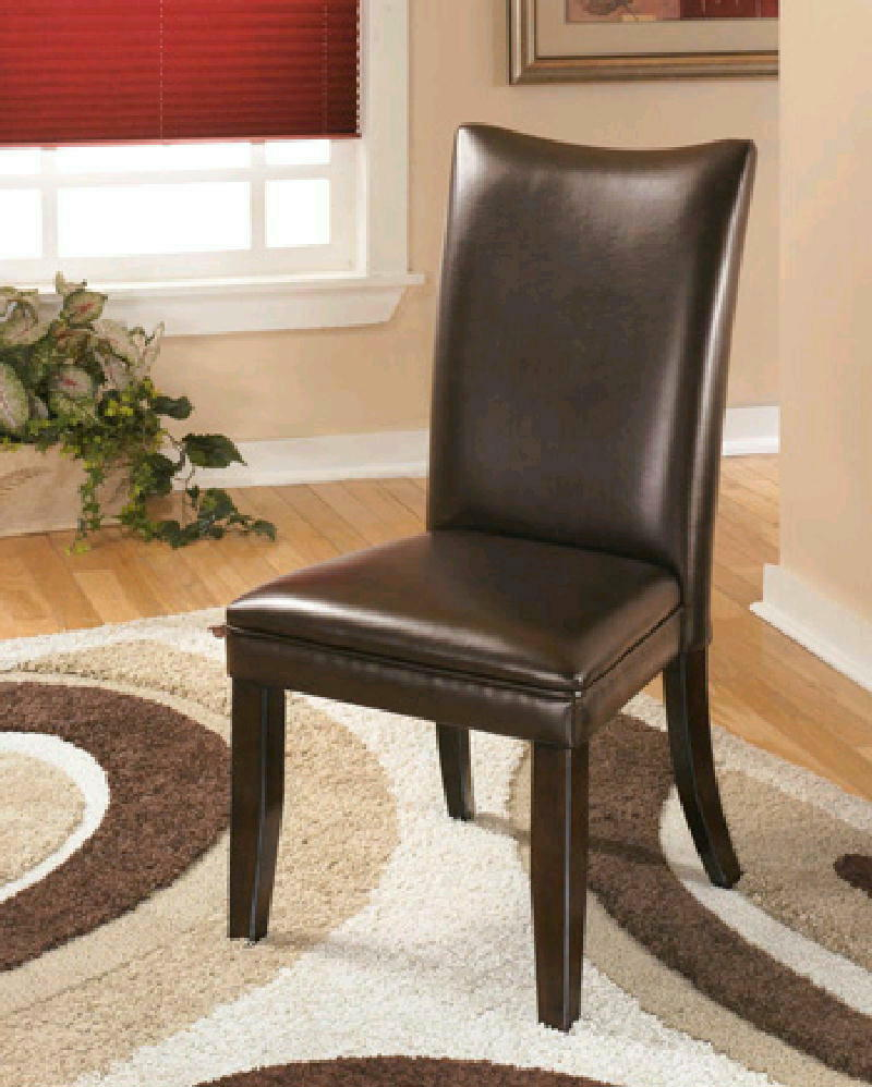 Brown Side Chairs pair