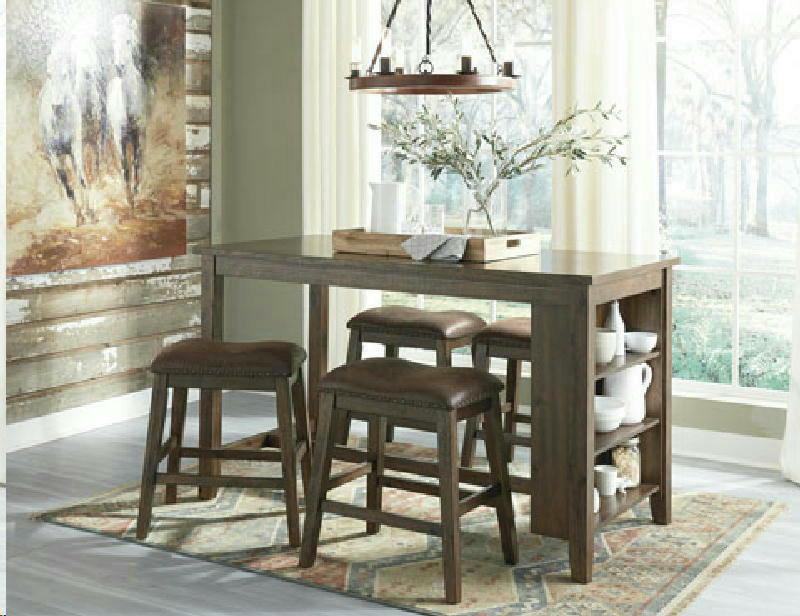 5 Pcs Counter Dining wstool