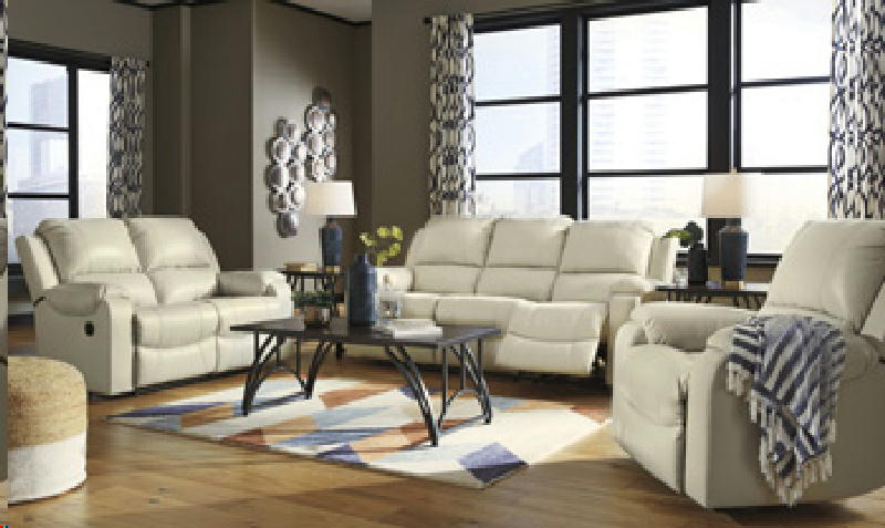 Leather Recl Sofa & Loveseat