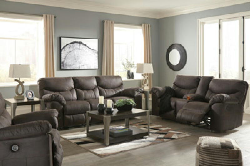Jamestown Black - Reclining Sofa and Loveseat
