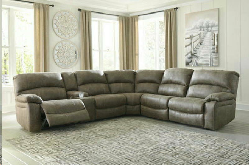 4 pc Recl  PWR Sectional