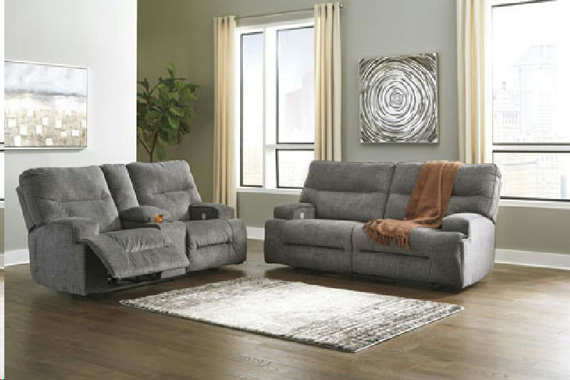 Recl Sofa and Loveseat