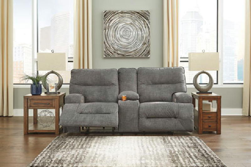 PWR Recl Loveseat wconsole