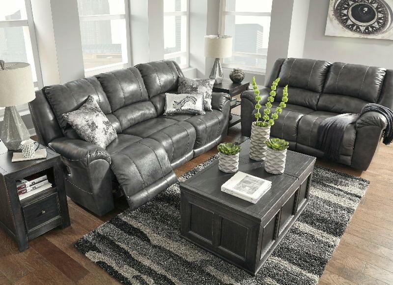 PWR Reclining Sofa & Loveseat