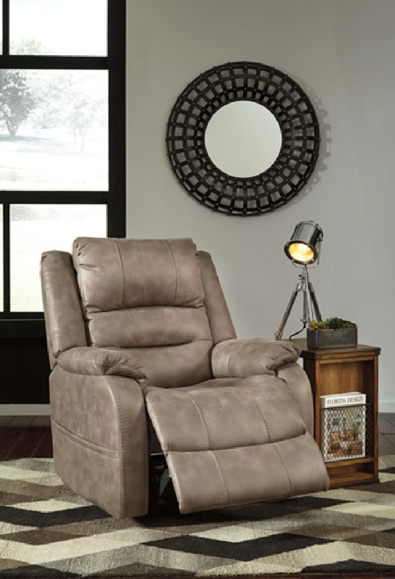 Power recliner wadj headrest