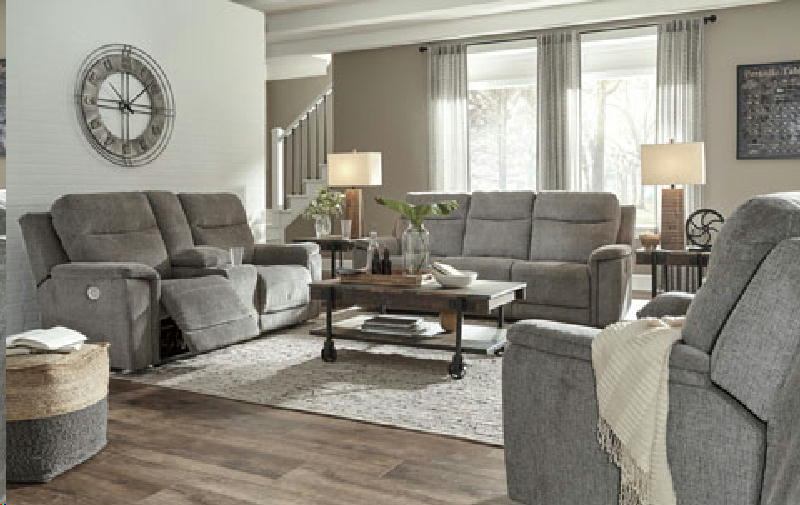 Pwr Reclining Sofa & Loveseat