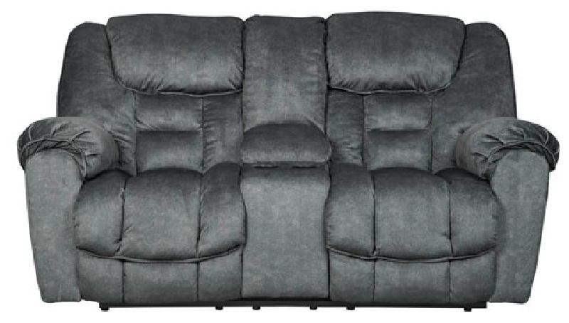 Reclining Loveseat wConsole