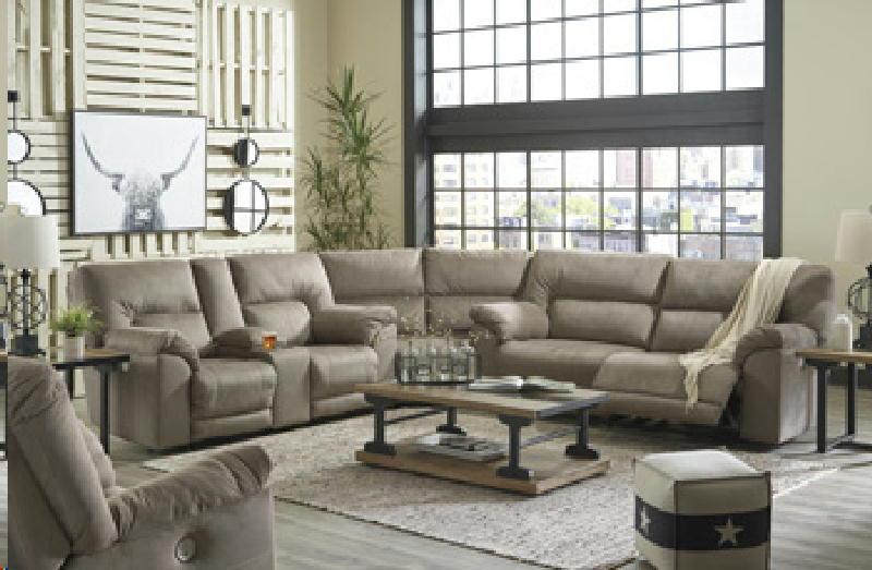 3 Pc Reclining Sectional SPO