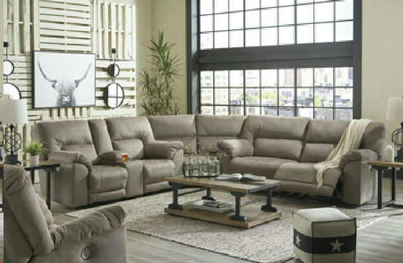 3 Pc PWR Reclining Sectional