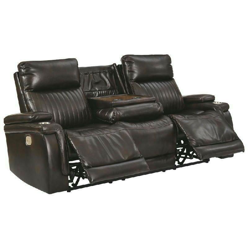 PWR REC Sofa wADJ HDRST