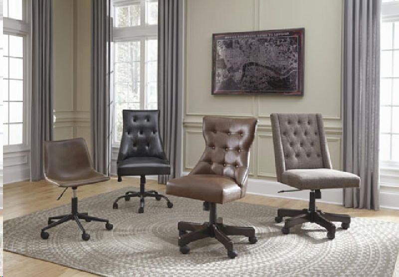 Office Swivel Chair-Brown