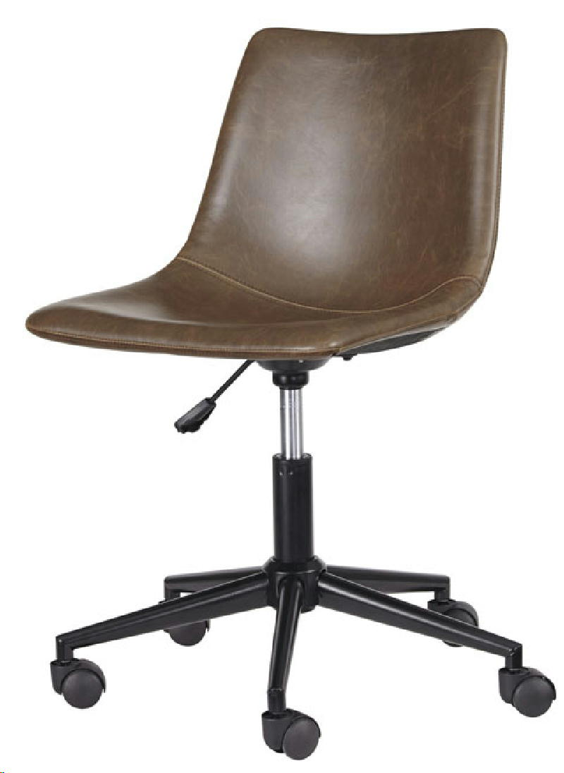 Office Swivel Chair-Brown