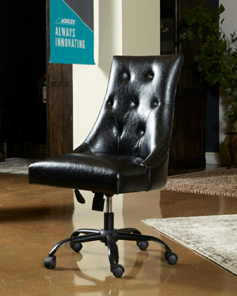 Office Swivel Chair-Black