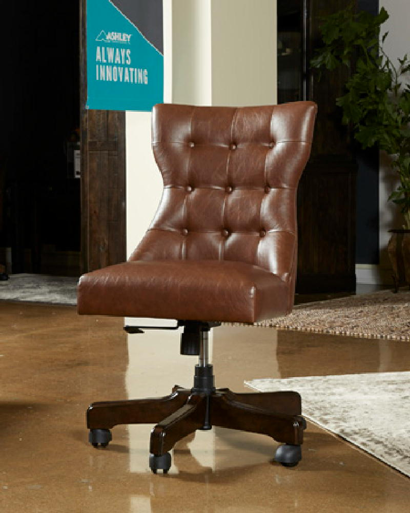 Office Swivel Chair Brown