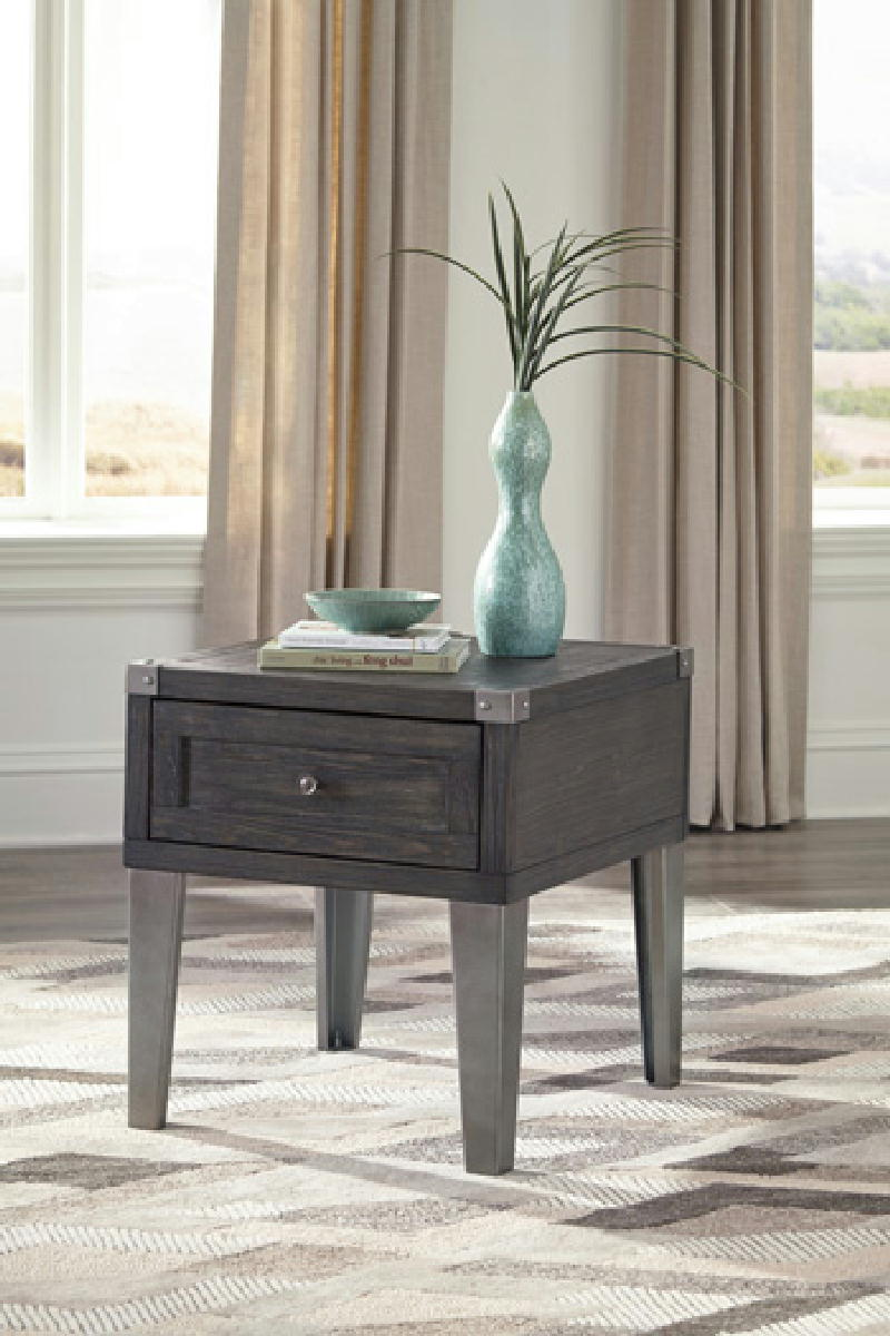 Rectangle End Table
