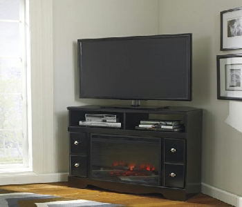 Media Chest wFireplace Insert