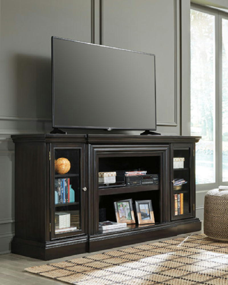 XL TV Stand wFireplace Insert
