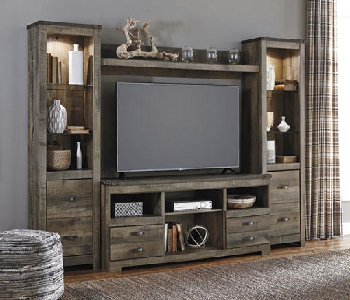 4PC Wall Unit
