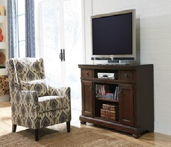 LG TV Stand wFireplace Option