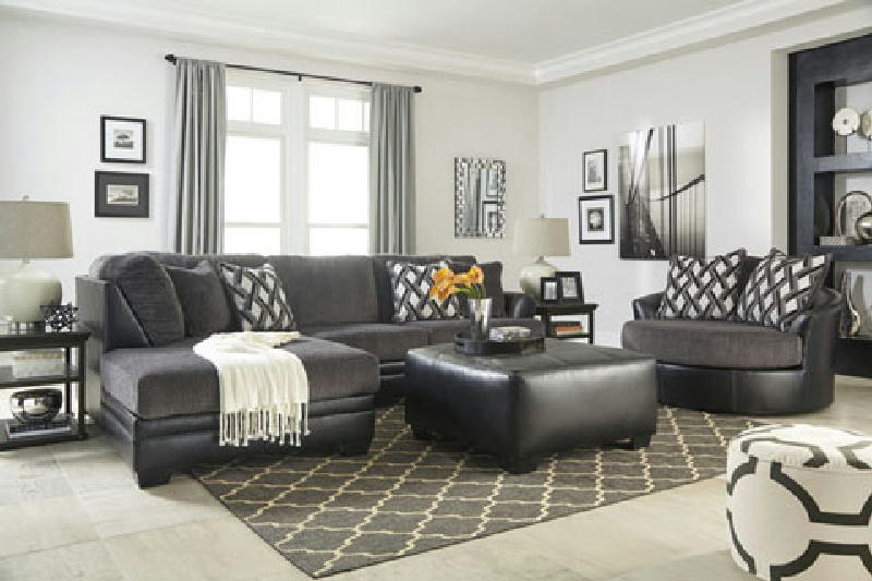 2PC Sectional & Ottoman