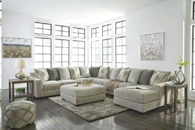 4 Pcs LAF sectional wottoman