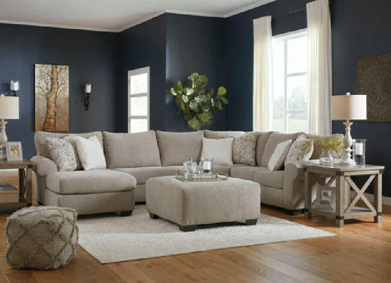 3 Pcs RAF Sectional wottoman