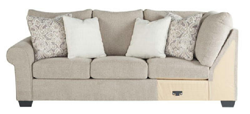 LAF Sofa wCorner Wedge