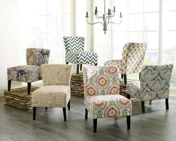 Accent Chair Floral
