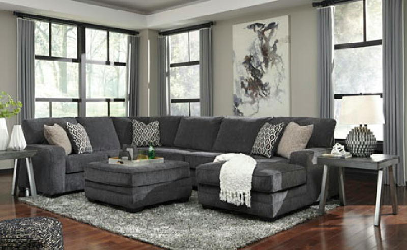 3 Pcs LAF Sectional wOttoman