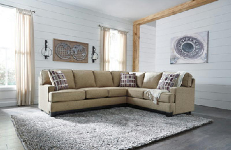 2 pc Sectional RAF Sofa