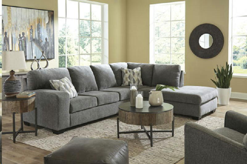 2 Pcs Laf Sectional wOttoman