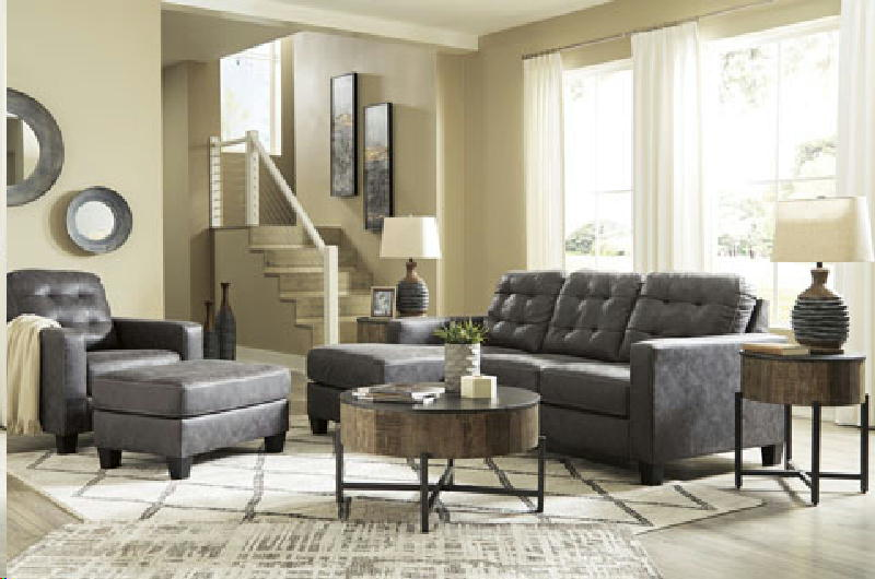 Sofa Chaise  Chair and Ottoman