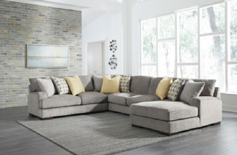 4 Pc Sectional LAF Chaise