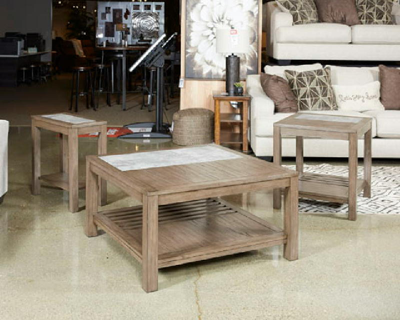 Cocktail Table & 2End Tables