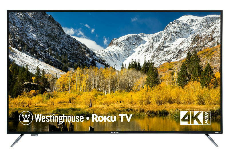 50 inch 4K UHD Roku TV