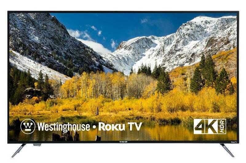 55 inch 4K UHD Roku TV