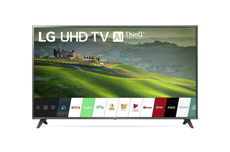 75 inch 4K Smart LED TV wAl ThinQ
