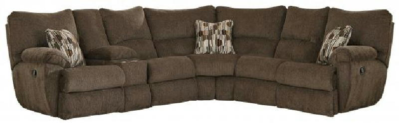 2pc lay flat rec sectional