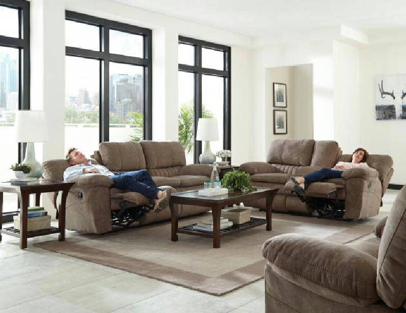 PWR REC Sofa & Loveseat