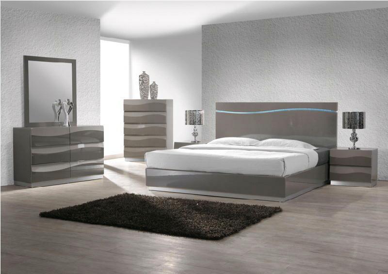 5 Pcs KingPlatform  Bedroom