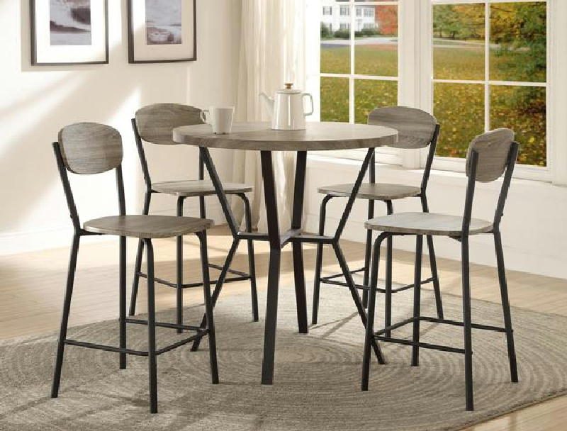 5 Pcs Counter Height Dinette